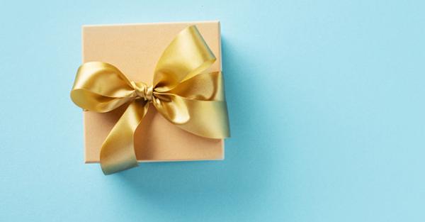 กล่องของขวัญที่ว่างเปล่า